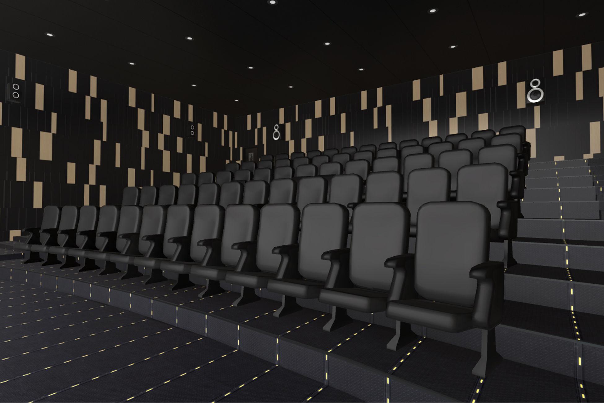 Modern Cinema Hall 06