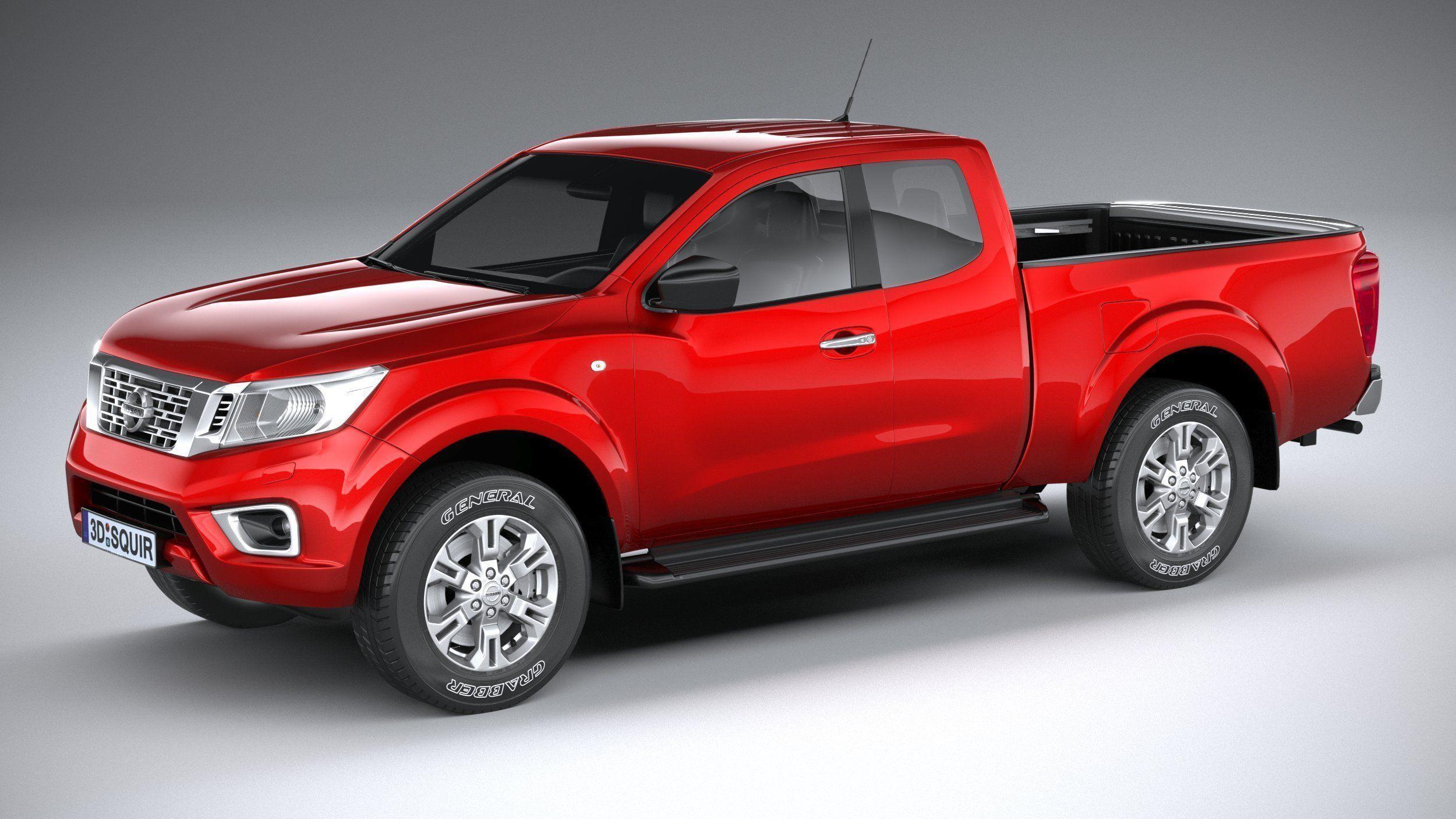 Nissan Navara 2020 3D model | CGTrader