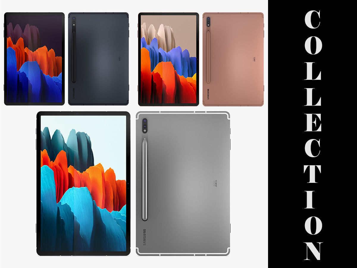Samsung Galaxy Tab S7 All Colors