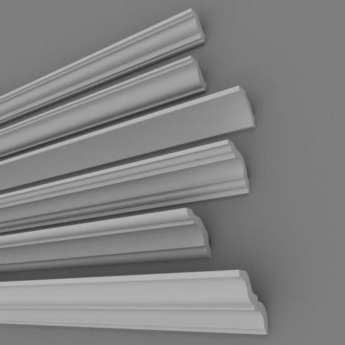 architectural plaster decorations 4 3d model max 1