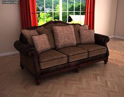 Ashley Key Town Sofa 3D asset