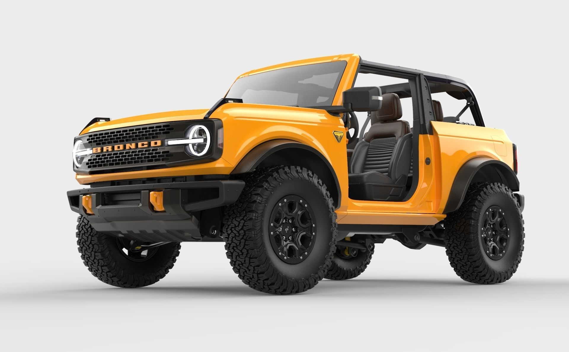 2021 Ford Bronco 2-door game ready