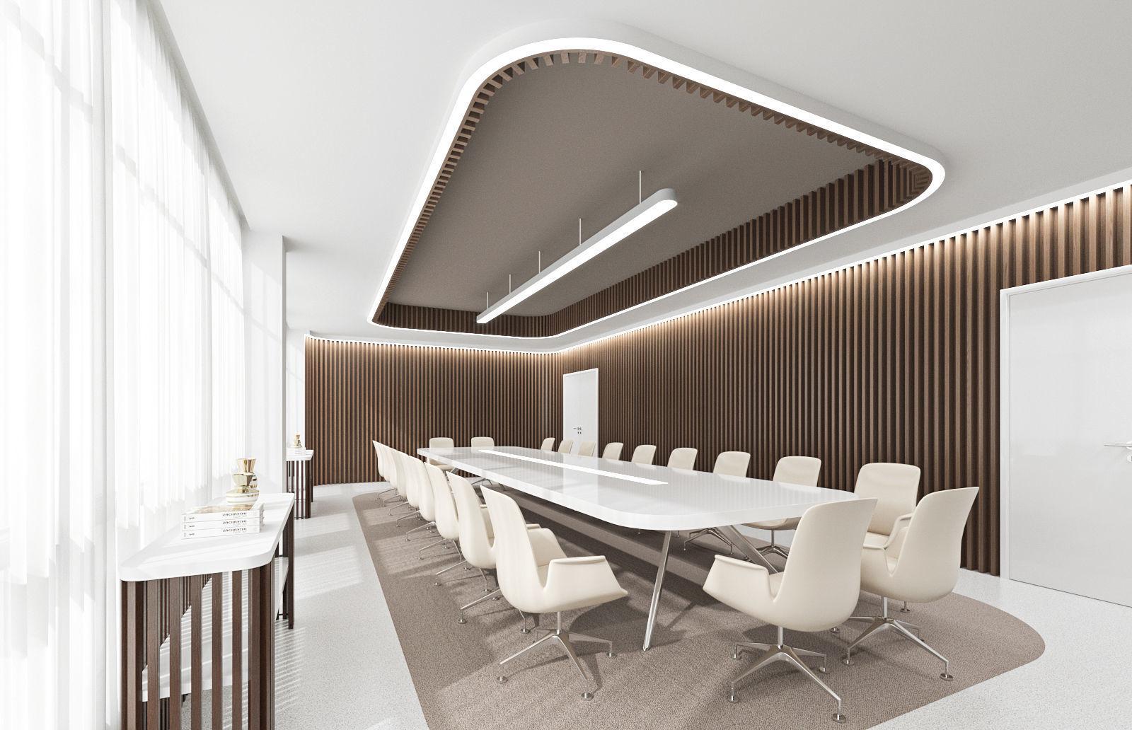 Fashion meeting room 3D model