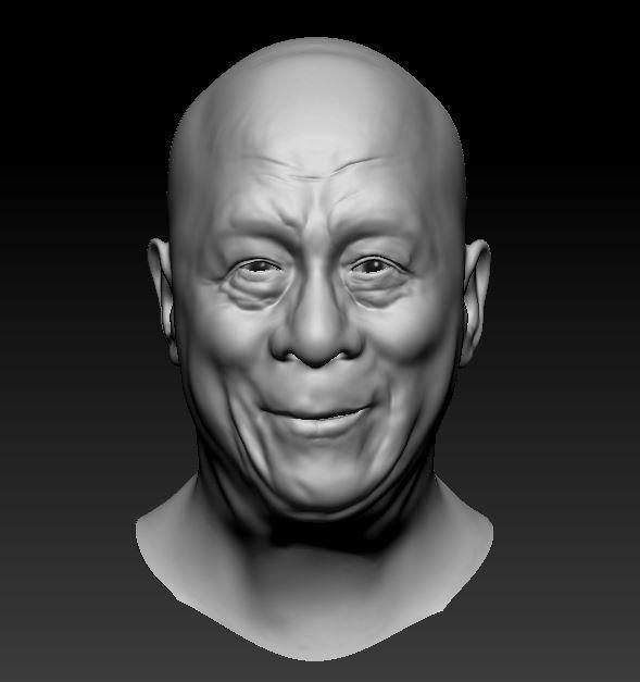 Dalai Lama Likeness 3D print model