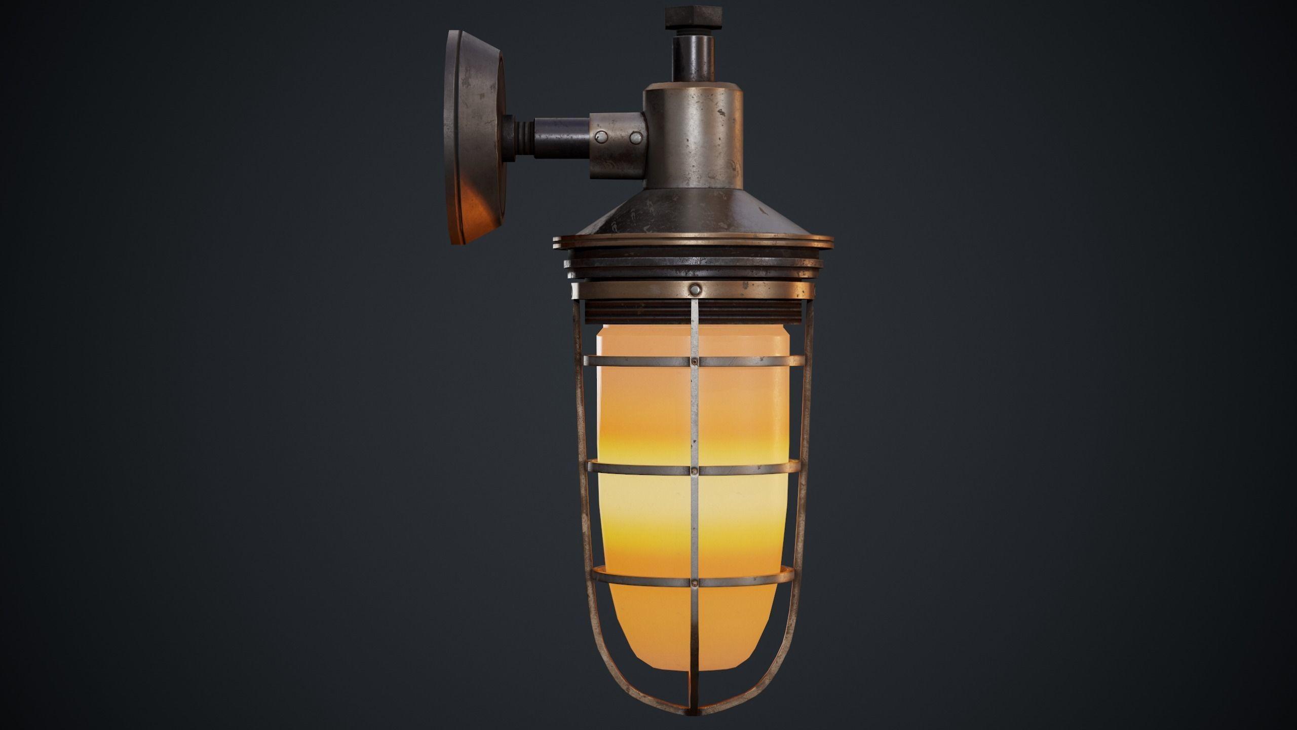 Steampunk  wall light