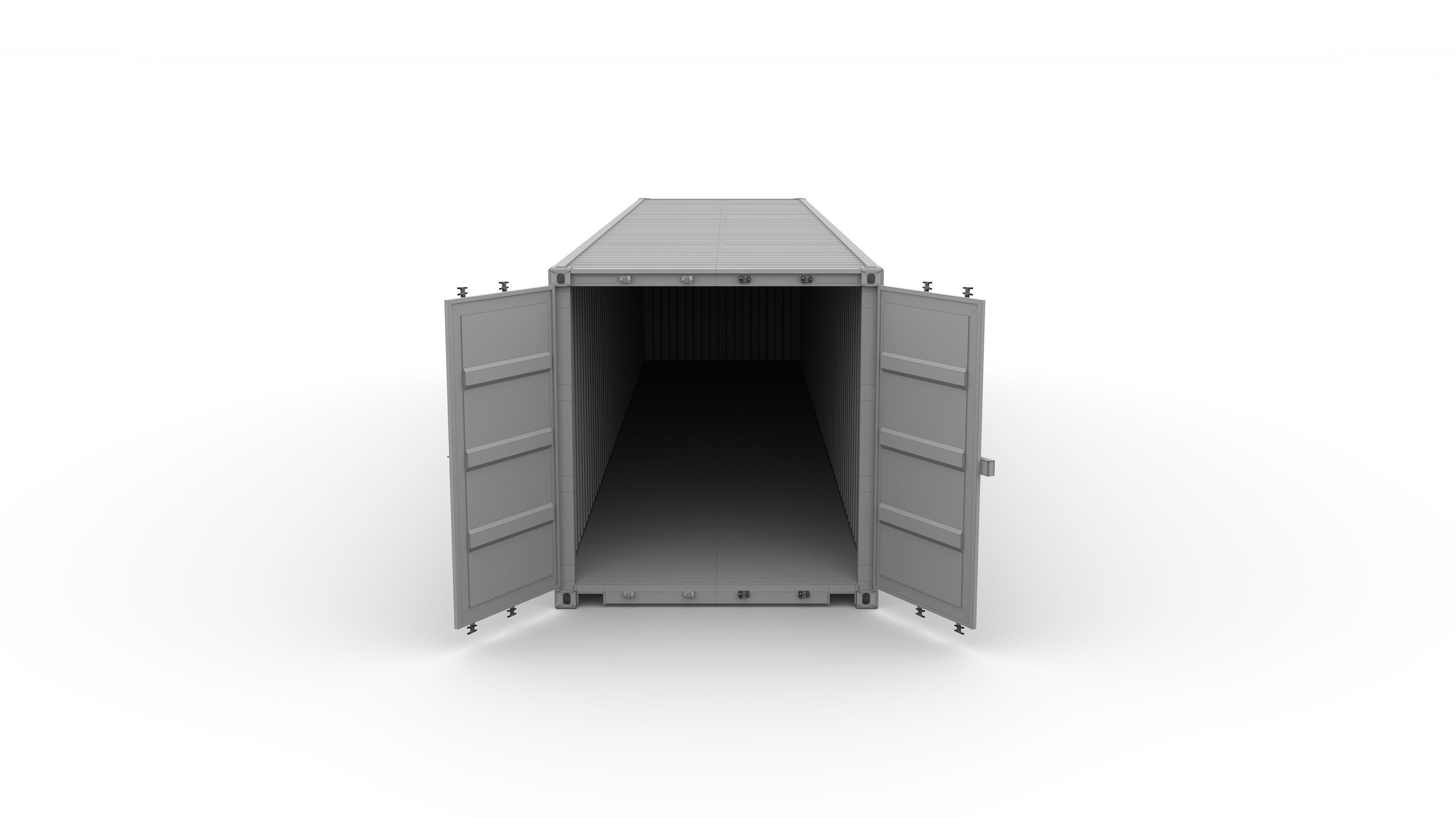 Shipping Furniture Model Endearing Shipping Container Collection 3D  Cgtrader Review