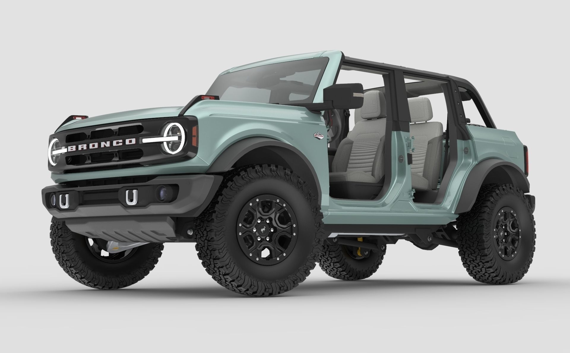 2021 Ford Bronco 4-door game ready