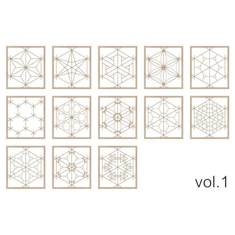 Kumiko Collection vol-1
