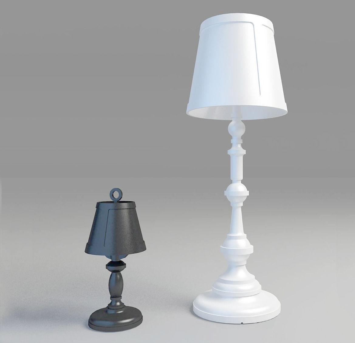 Floor lamp moooi 3d model max 3ds fbx cgtradercom for Floor lamp 3ds max free model