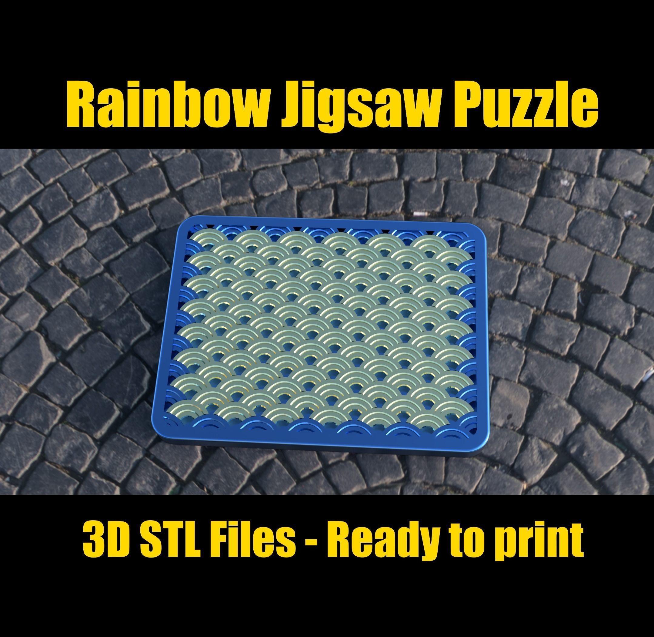 Rainbow Jigsaw Puzzle