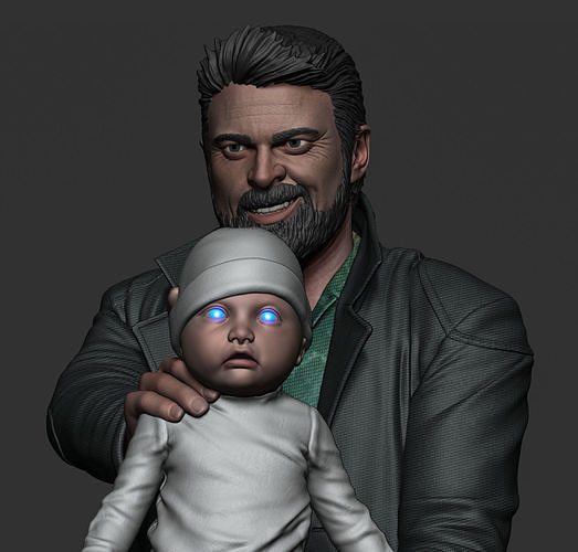 Karl Urban - Butcher and baby