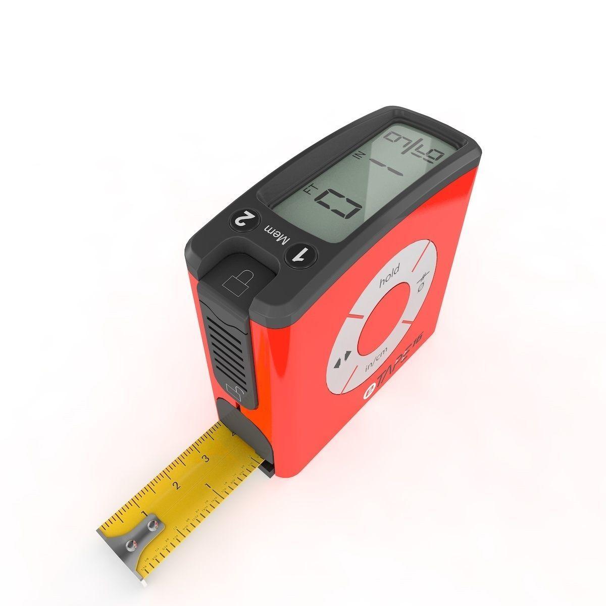 Digital Tape Measure Original Rigged