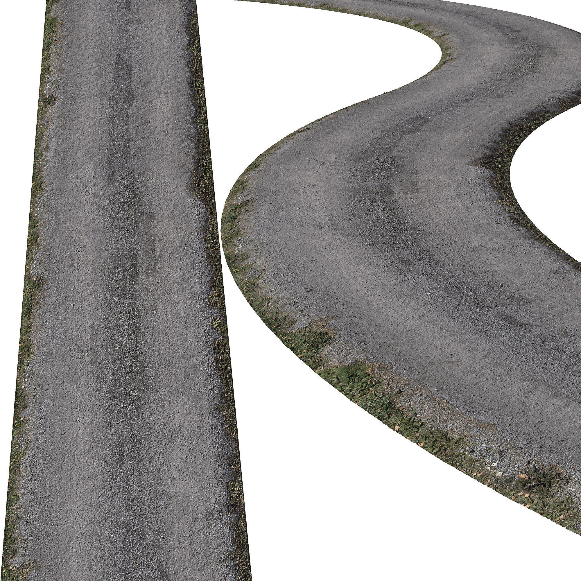 Ultra realistic Road  Asphalt