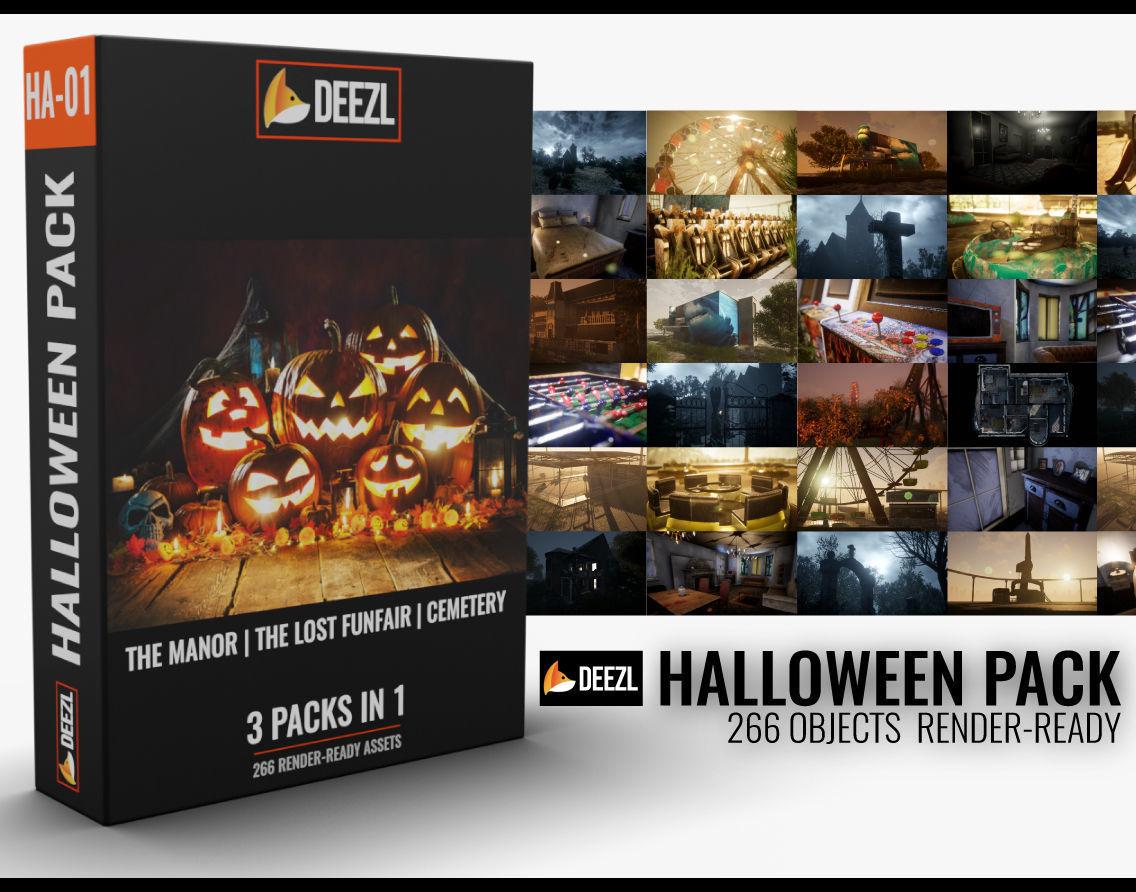 Halloween Pack - 3 in 1
