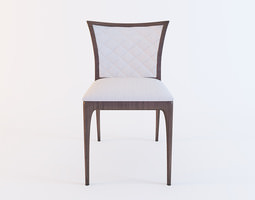 Four Seasons V4 Side Chair by Costantini Pietro 3D Model