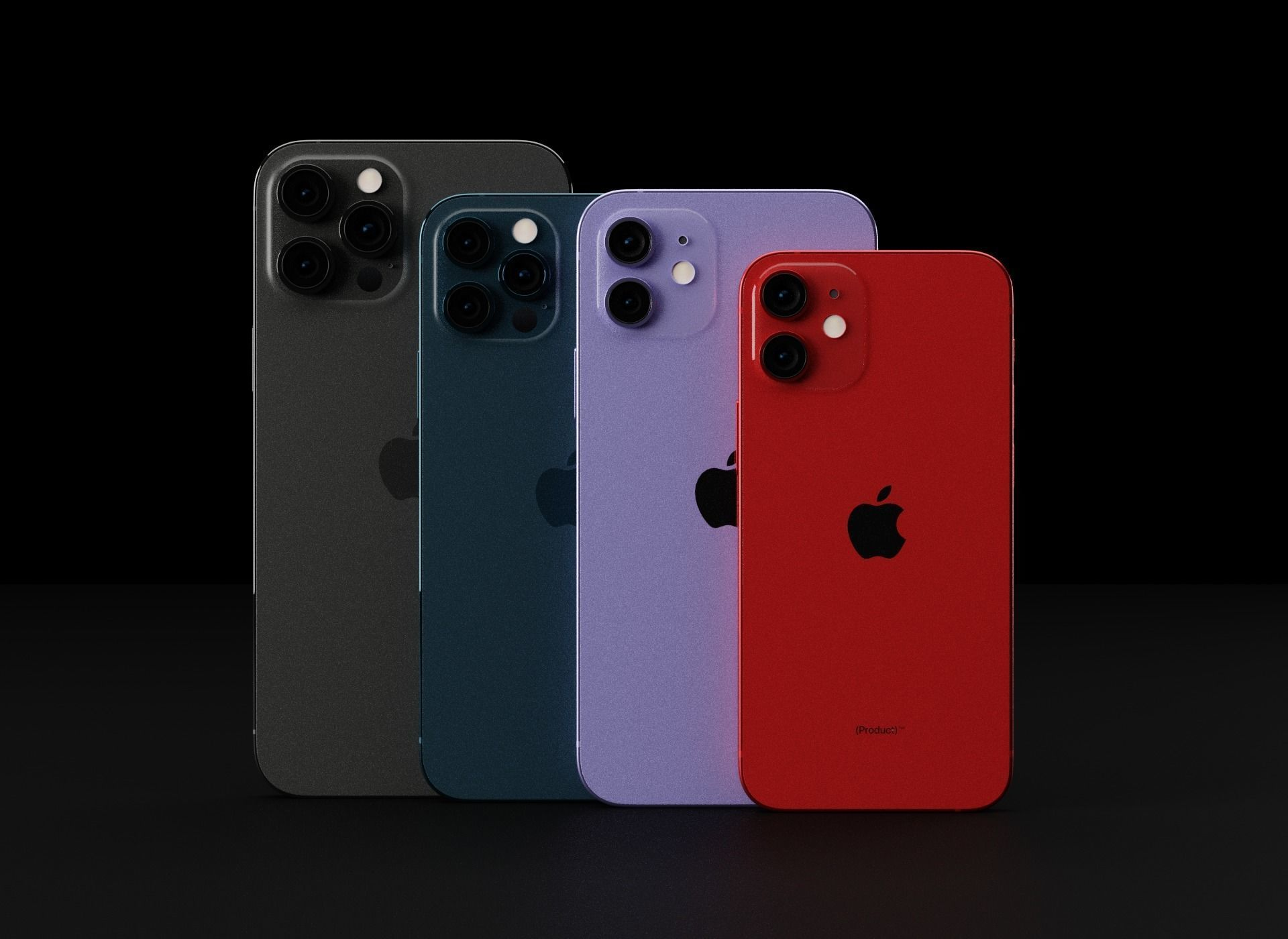 Apple iPhone 12 All Models in all Official Colors