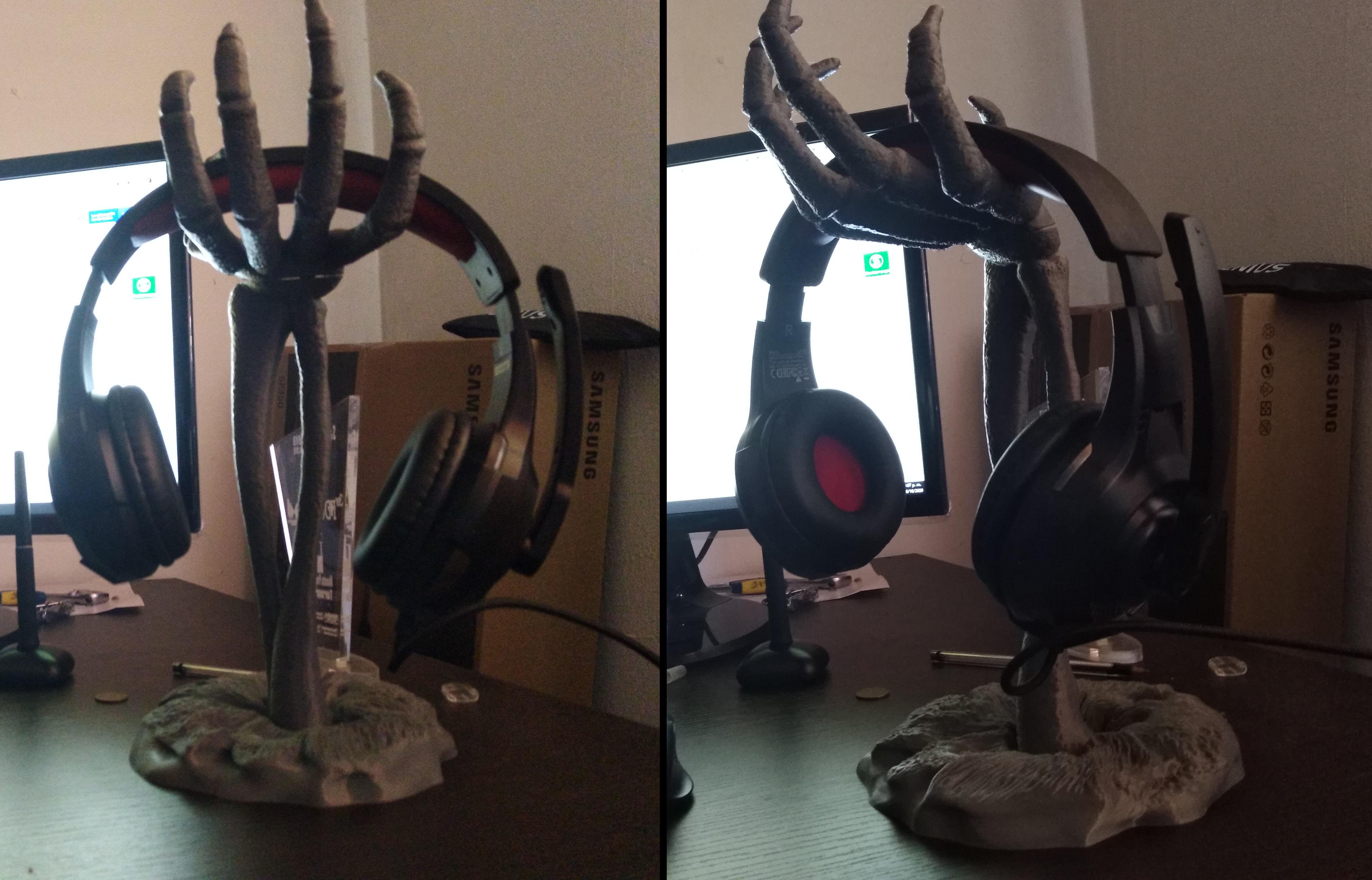 Halloween headphone stand