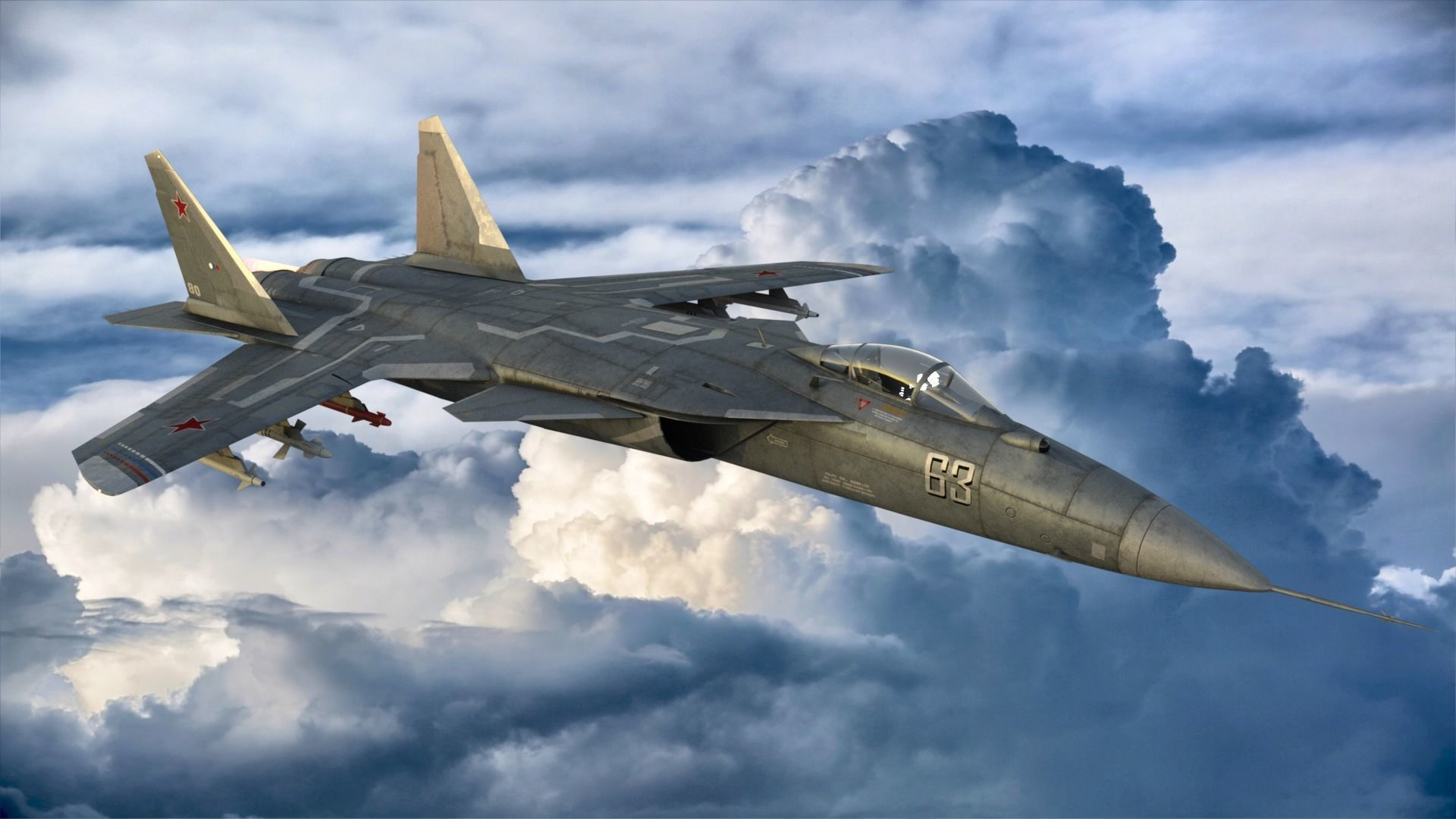Beast fighter jet