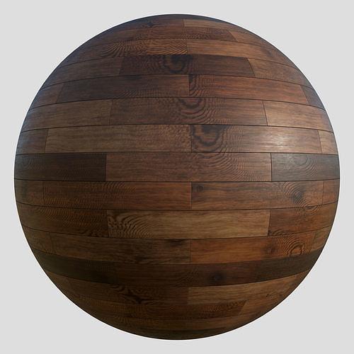 Wood floor planks PBR material 4K Free