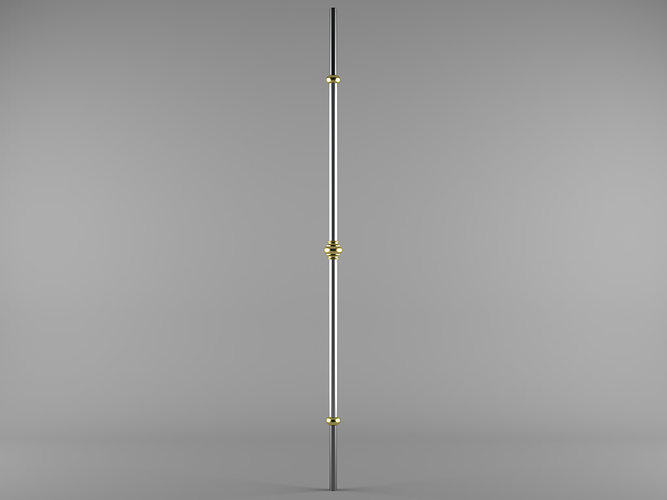 grande forge harmonie bl107 3d model max 1
