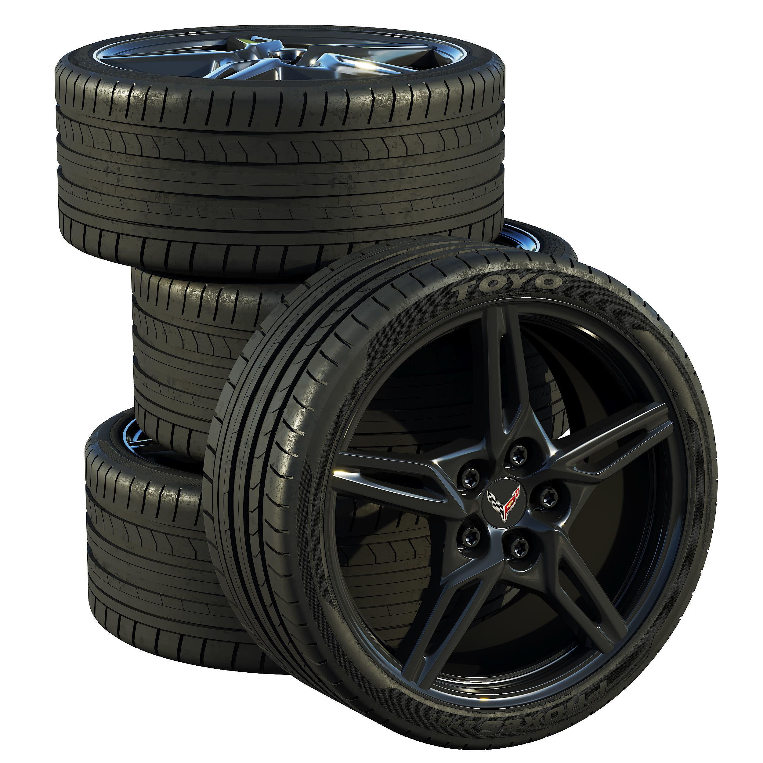 Chevrolet Corvette C8 2020 wheels
