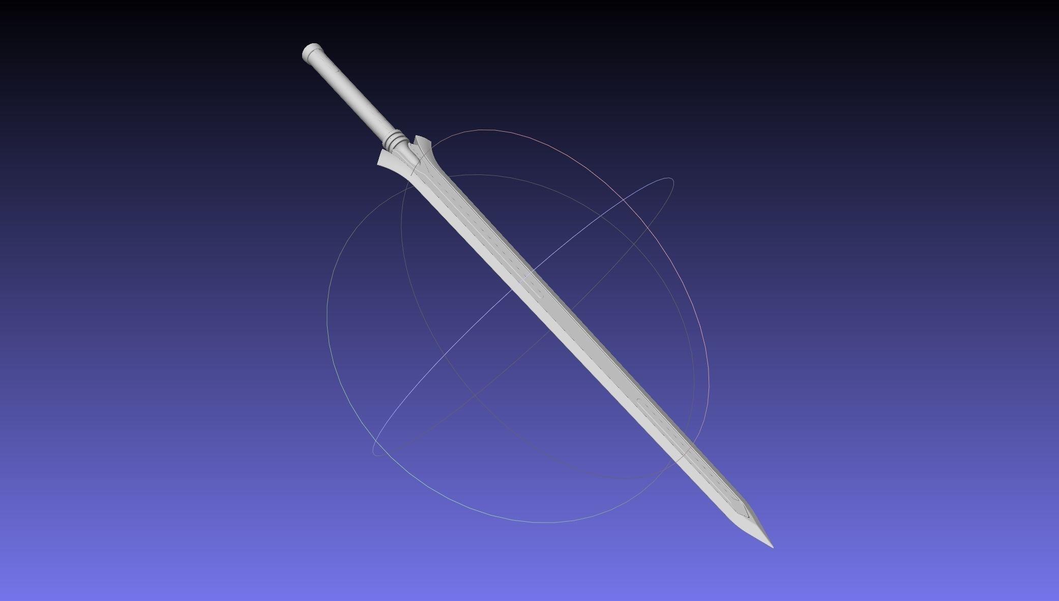 Sword Art Online Kirito Ordinal Scale Main Sword