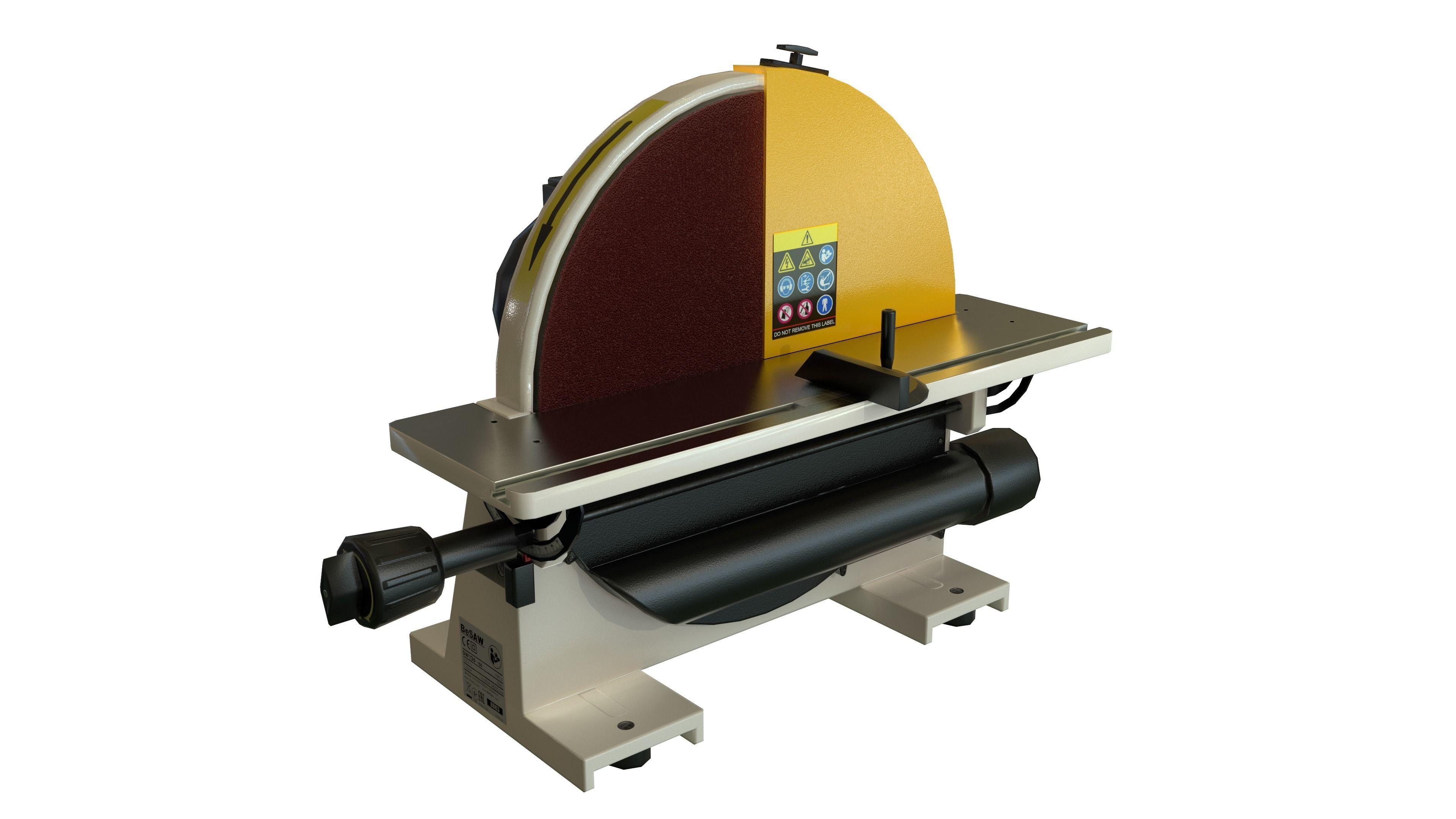 Disk sander Grind abrasive machine Clean