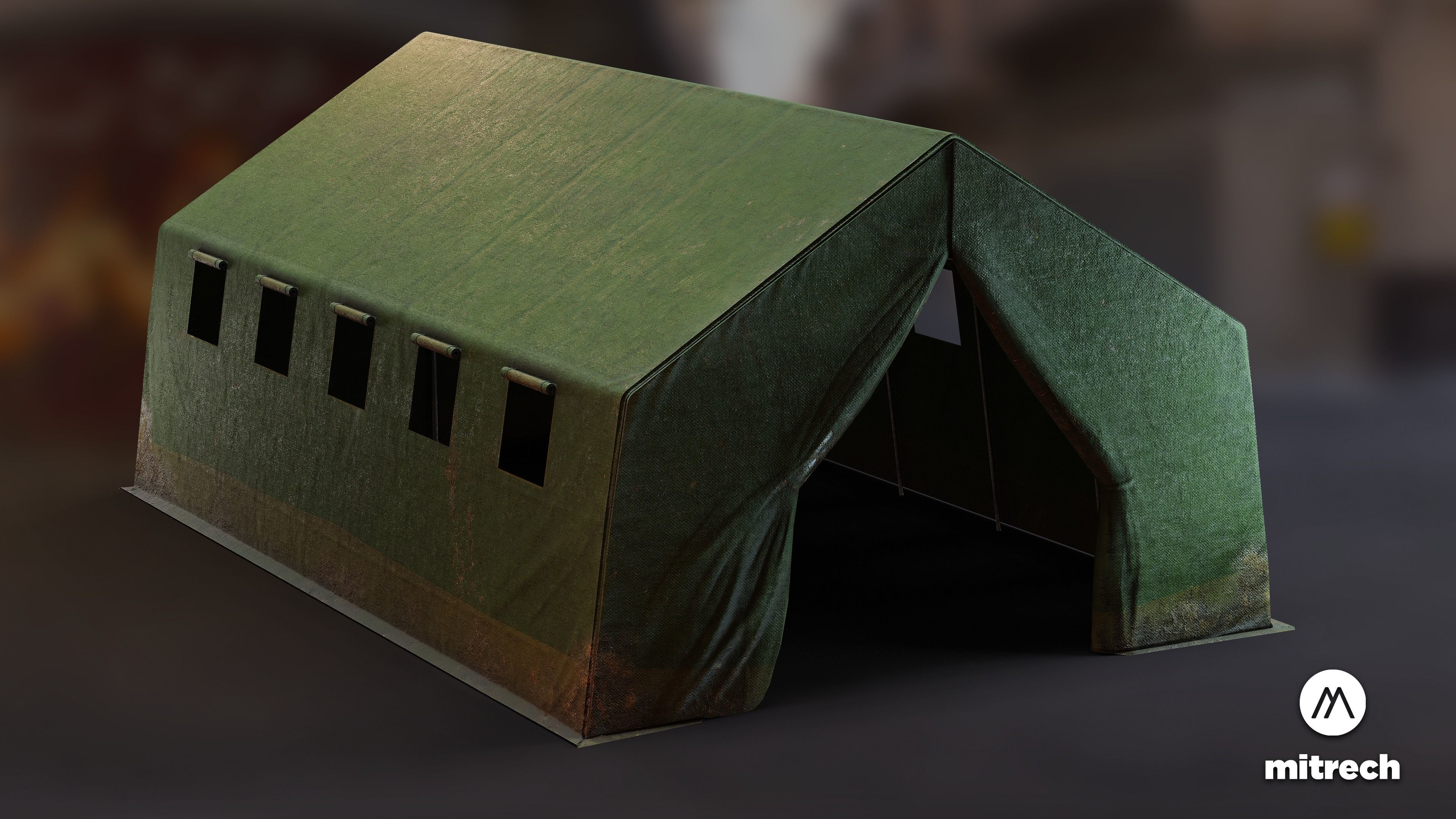 Military Base Tent PBR