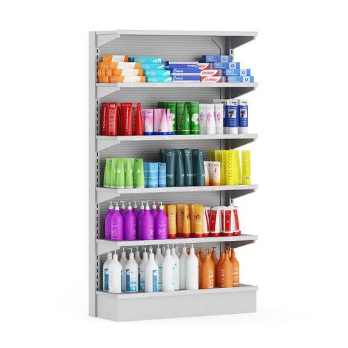 market shelf  cosmetics 3d model max obj mtl fbx c4d ma mb 1