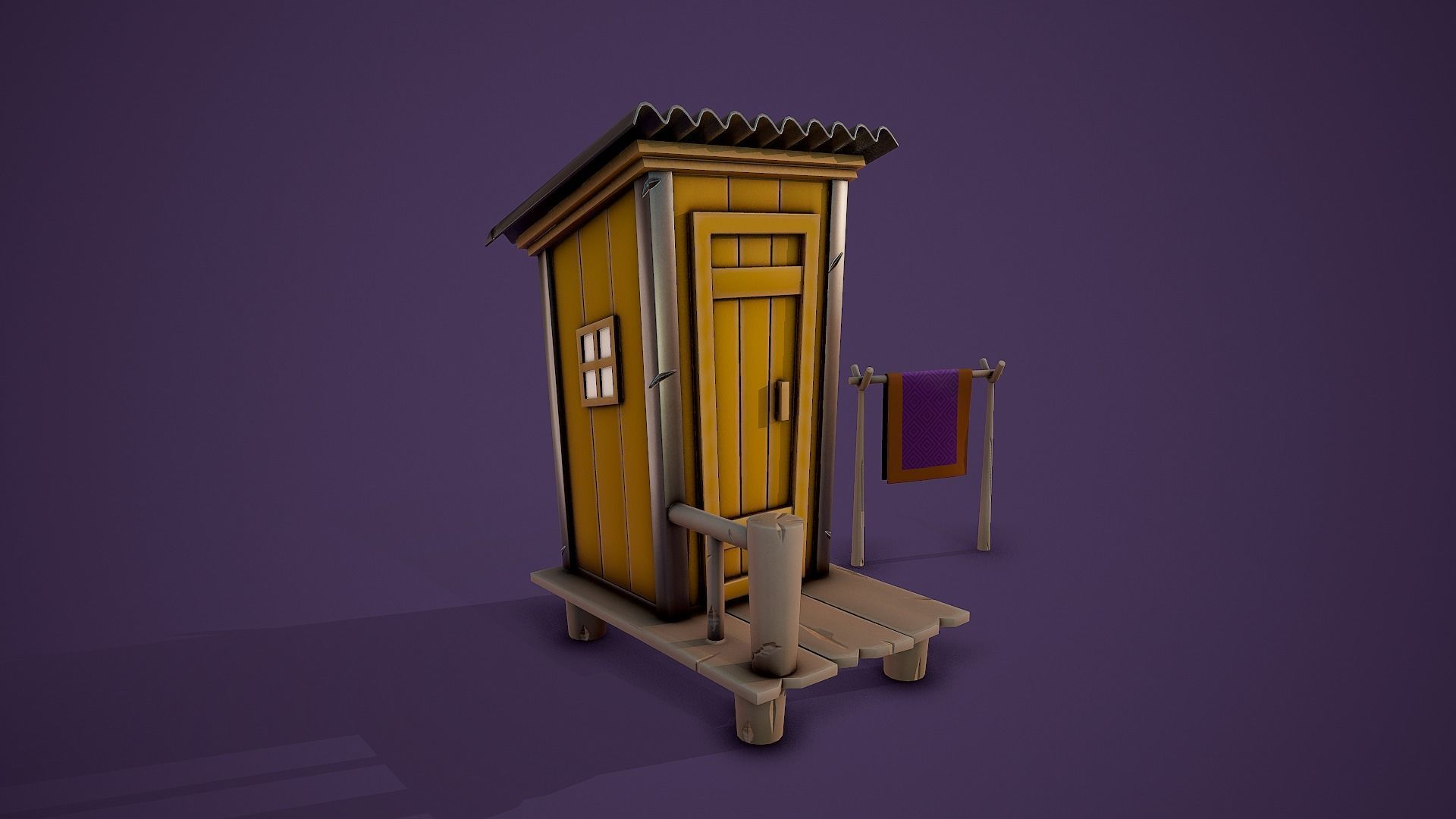 Stylized Shed - Tutorial Included