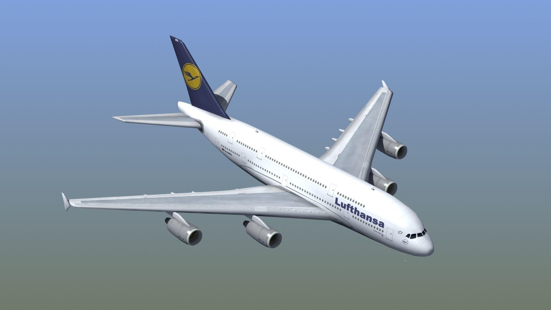 A380 Passenger Aircraft