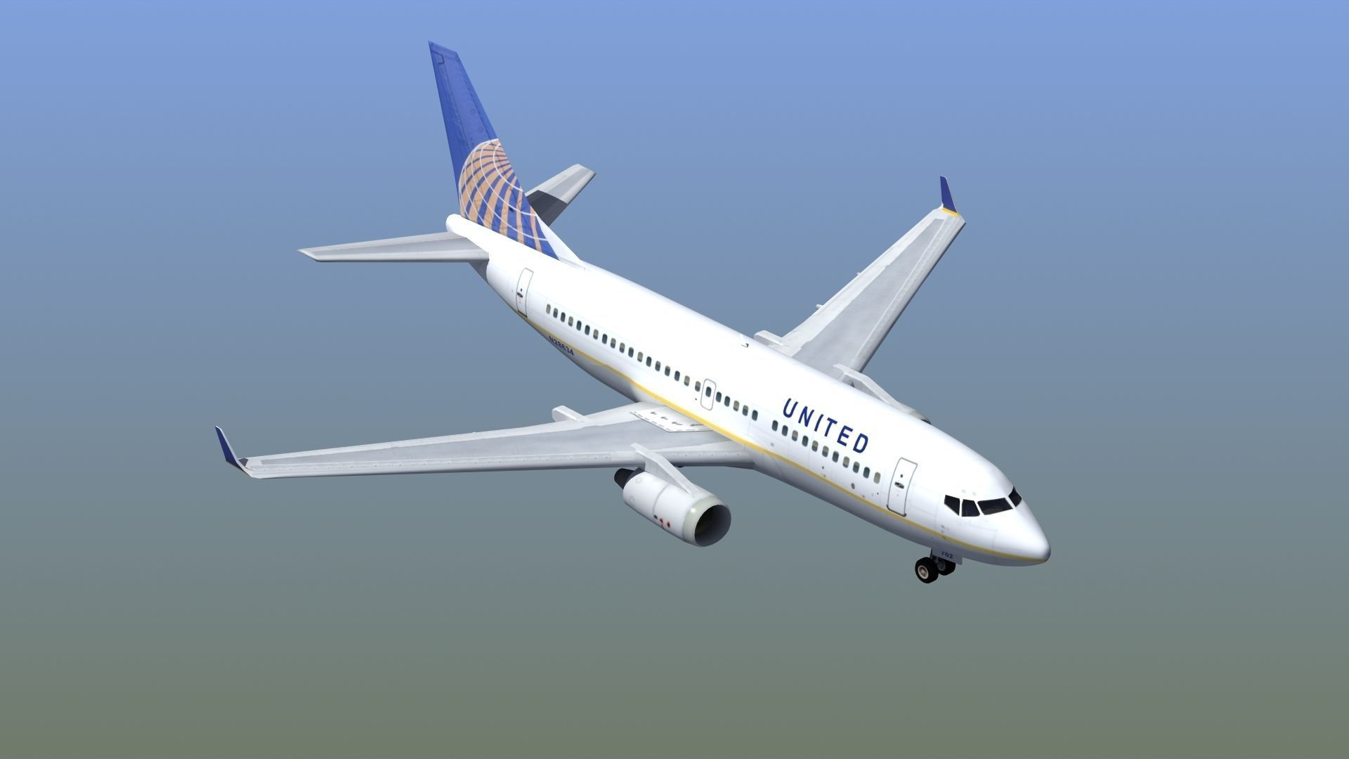 Boeing 737-700 Airliner