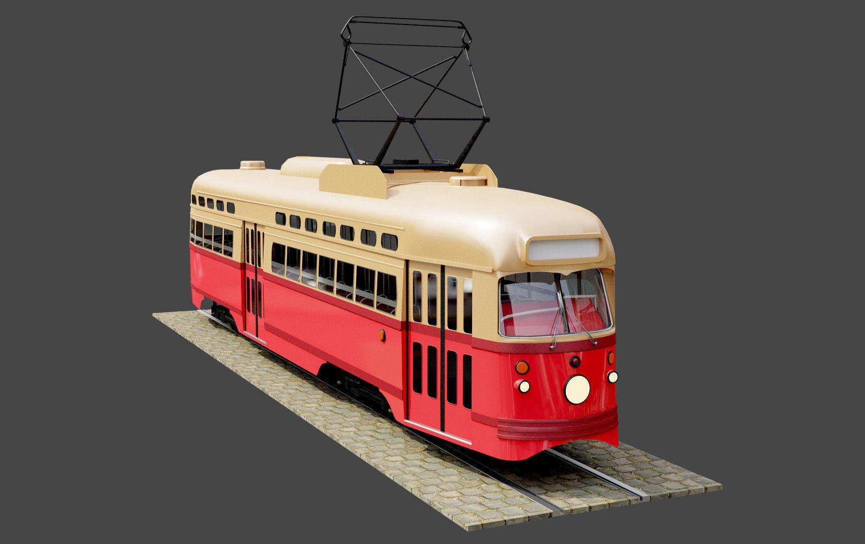 PCC SNCV Tram