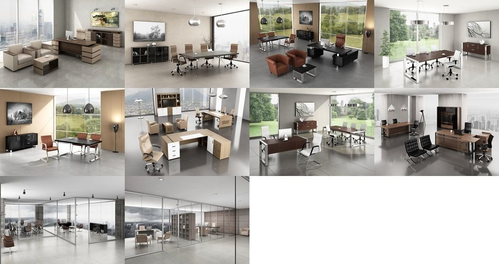 10 Office Interior Pack Collection