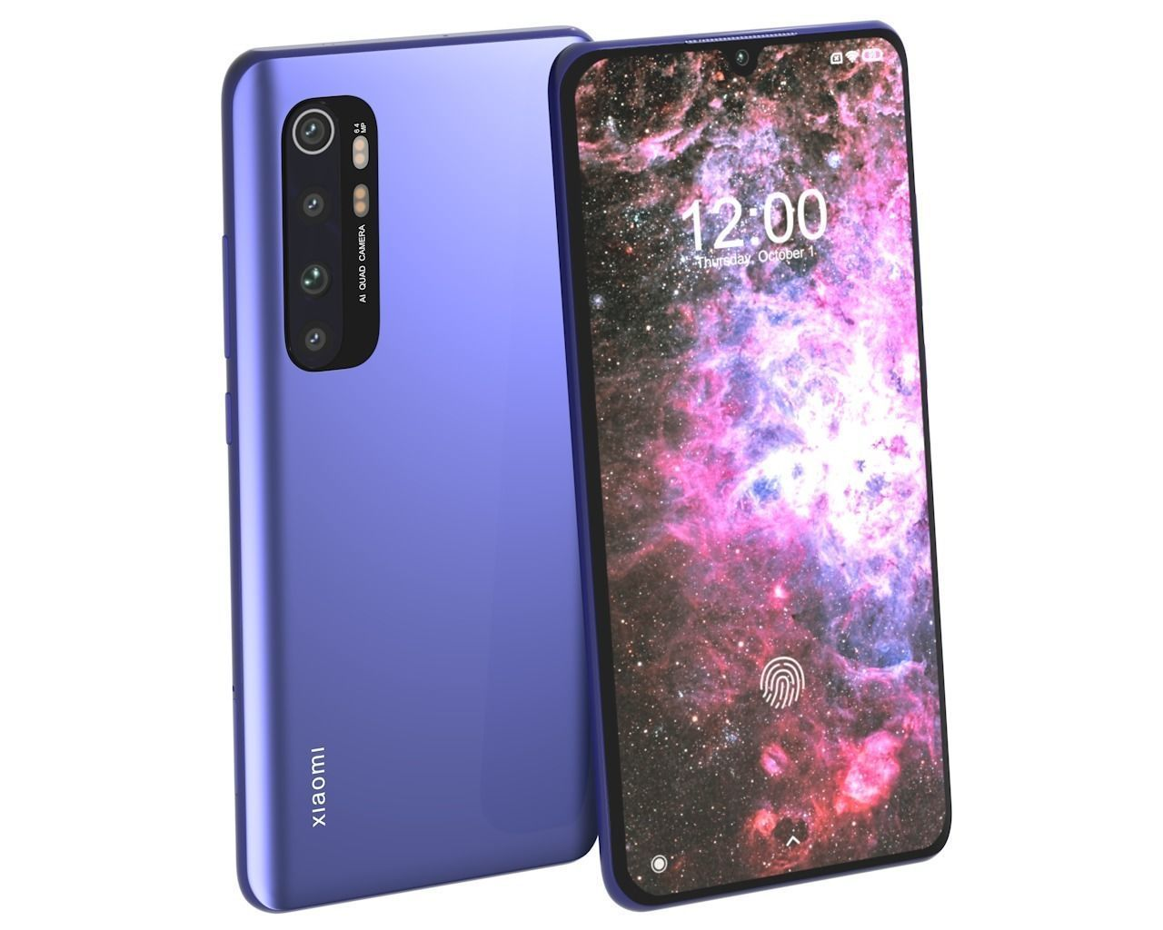Xiaomi Mi Note 10 Lite Nebula Purple