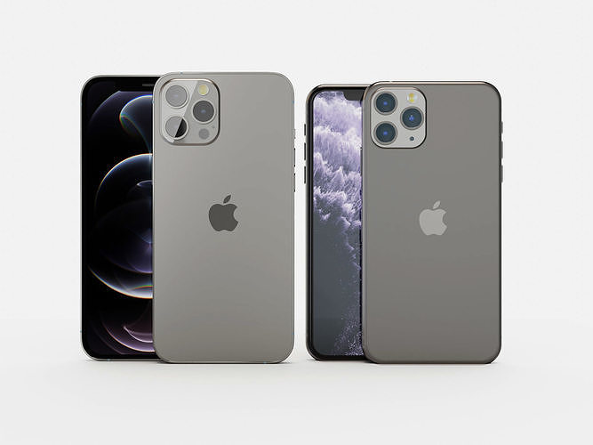 iphone 12 and 11 pro max