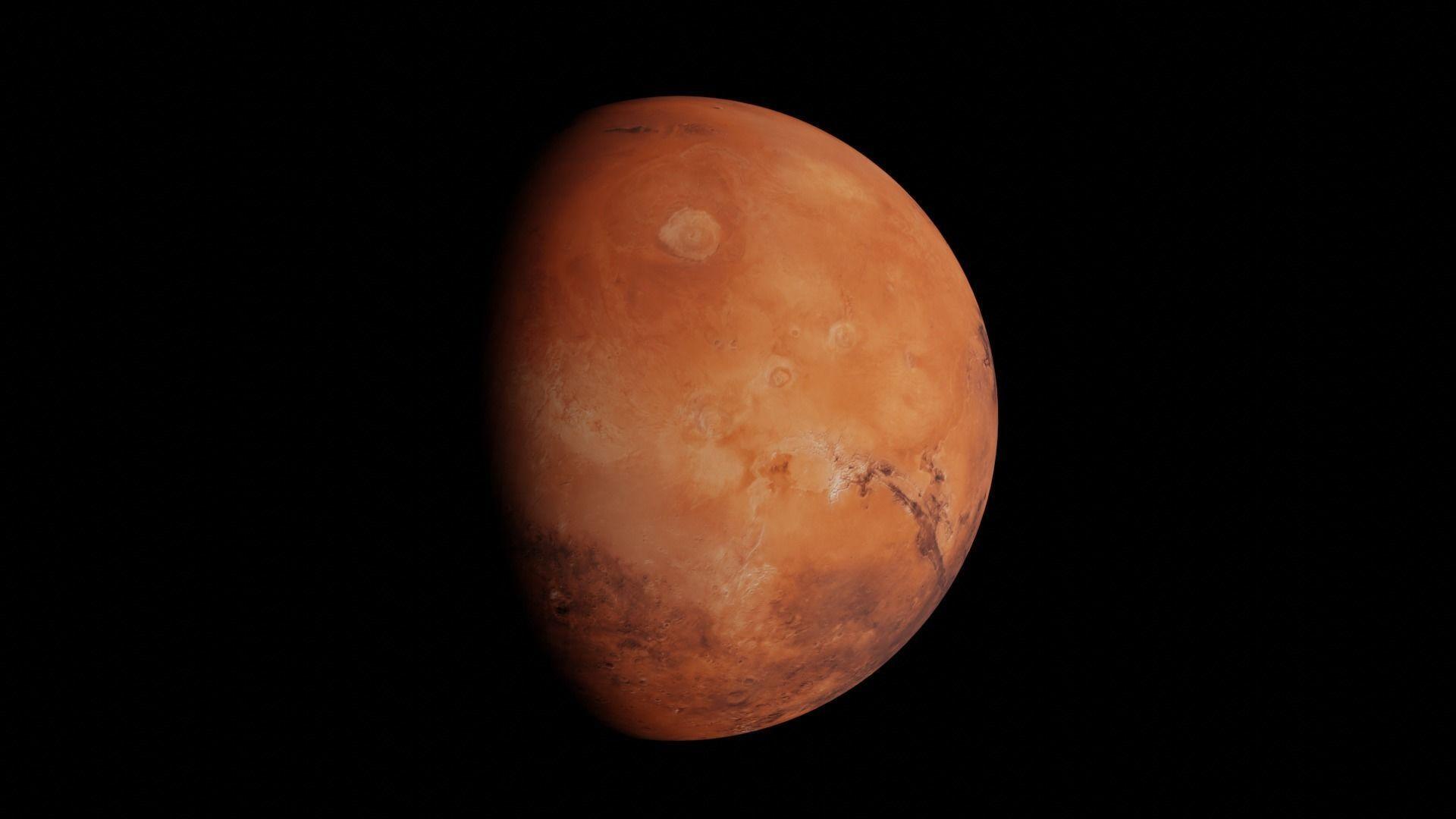Photorealistic Mars
