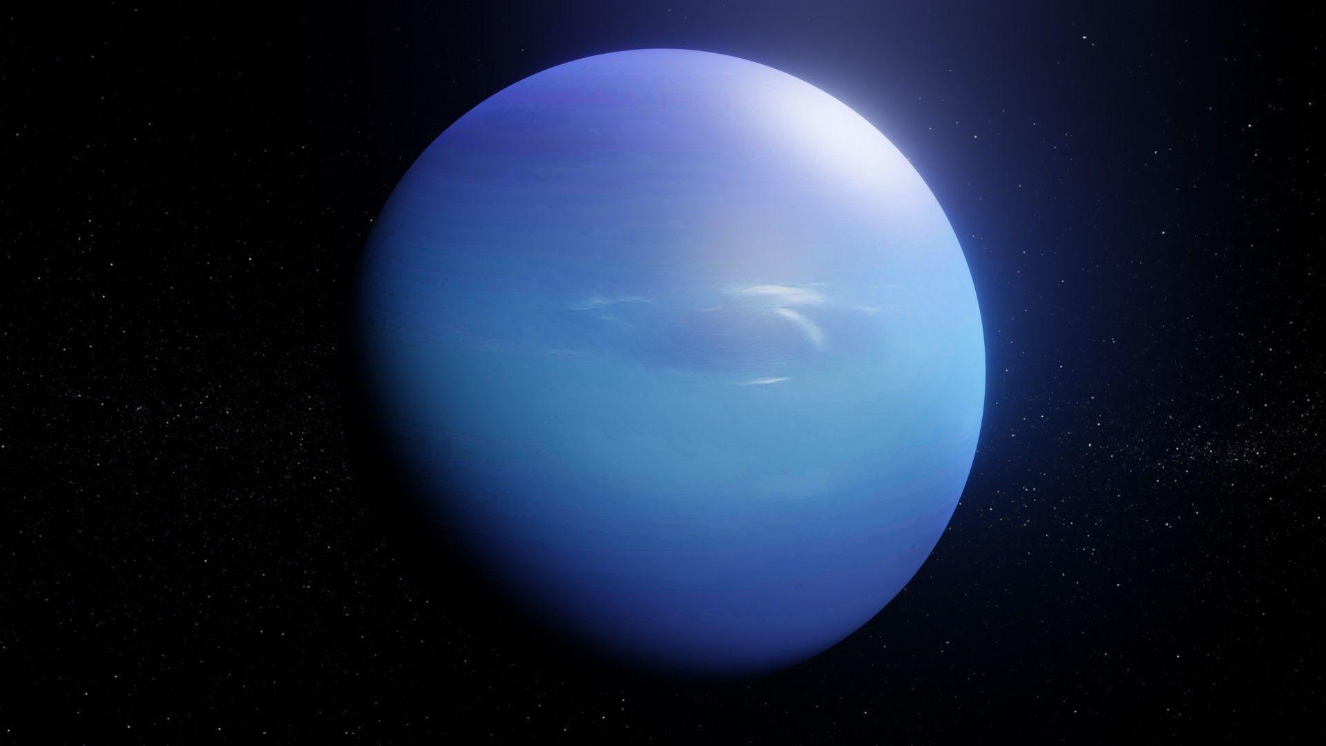 Photorealistic Neptune 8k Textures 3D Model