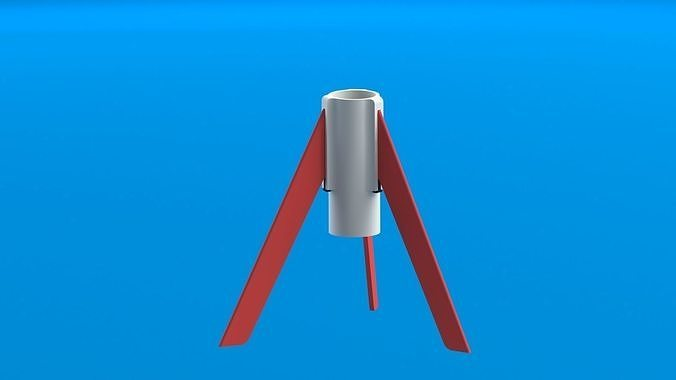 E9-6 E-class single stage model rocket engine Stand for launch