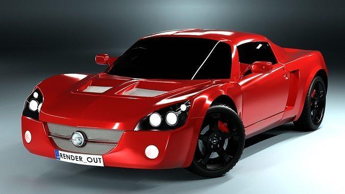 Opel speedster sport car