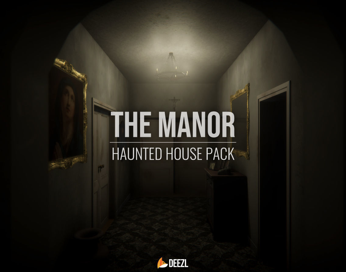 The Manor - Haunted House Pack - All Formats