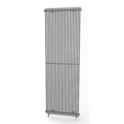 grey modern radiator - radiator 16 am91 3d model obj 1