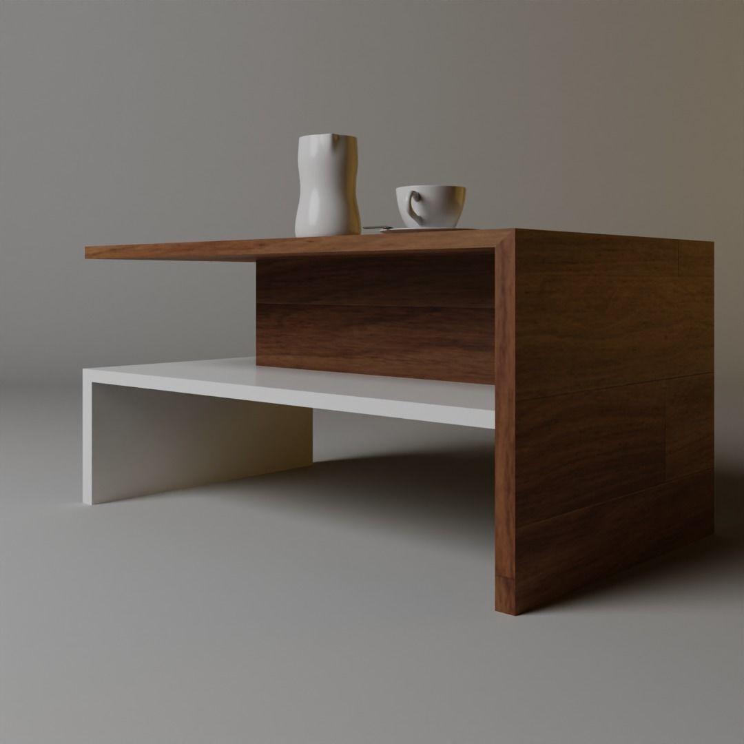 3D Wood Teapoy | CGTrader