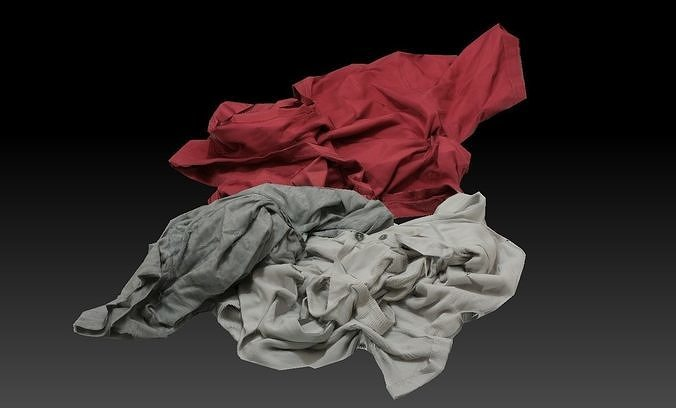 Pile of Cloths 2