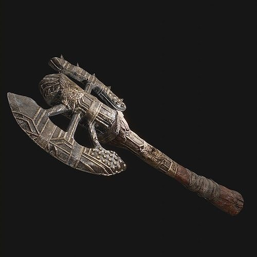 Medieval Axe for Games