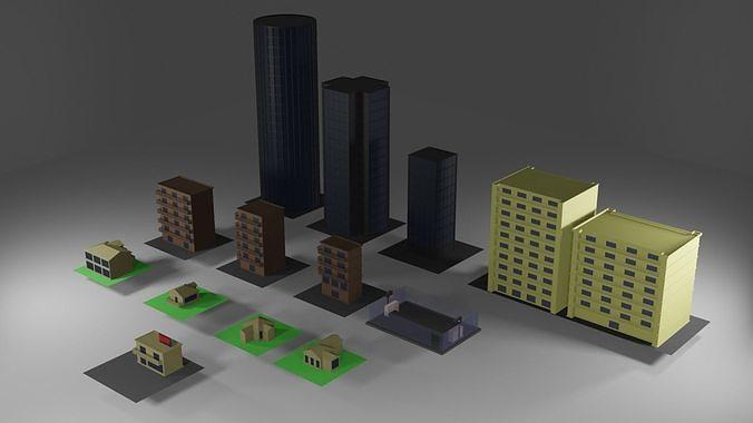 Buildings Asset Pack