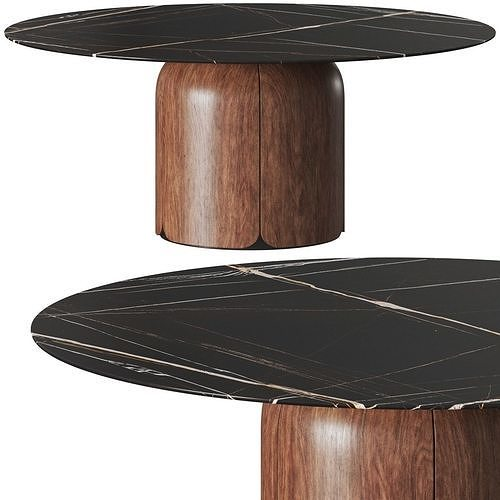 Milla and Milli Bloom Round Dining Table