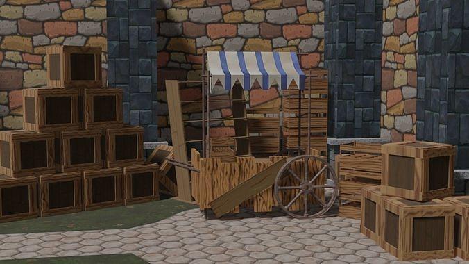 Medieval Stand Market
