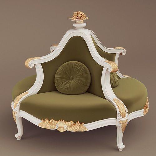 Jumbo Collection Round sofa ASS 105