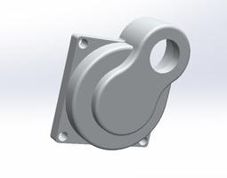RC-Car Engine Housing 3D model